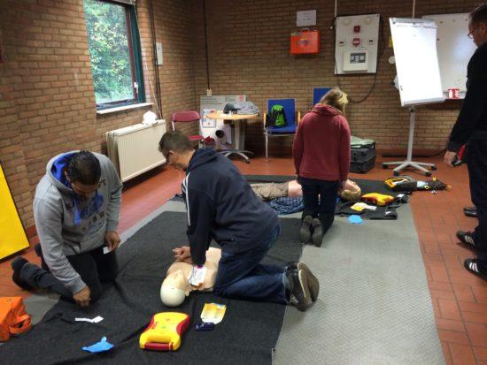 Praktijkgerichte BHV trainingen