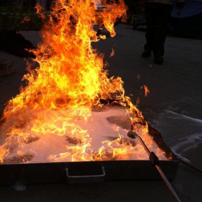 bhv-cursus met fire trainer