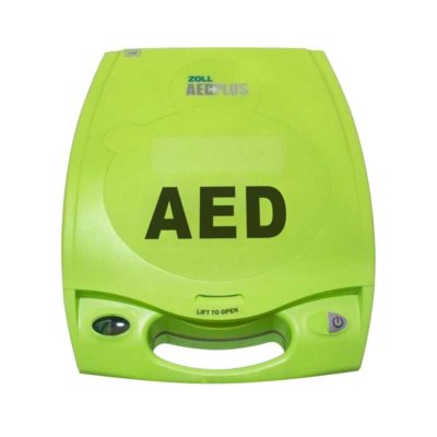 zoll aed plus frontaal