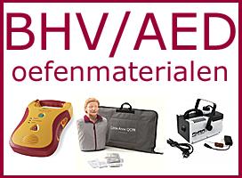 BHV/AED oefenmaterialen